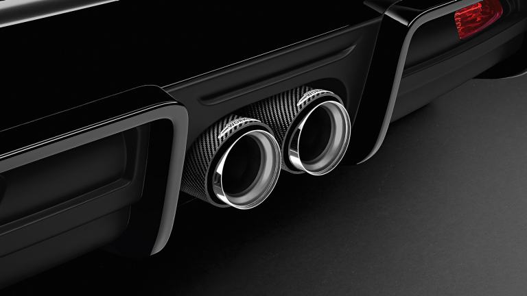 JCW Carbon Tailpipe Trim