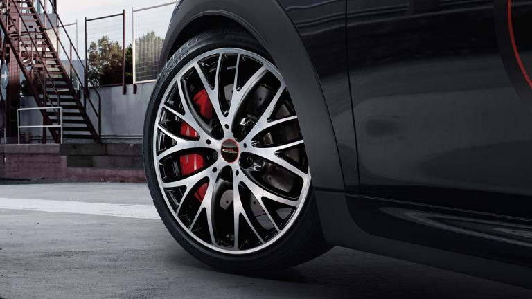 John Cooper Works light alloy wheels