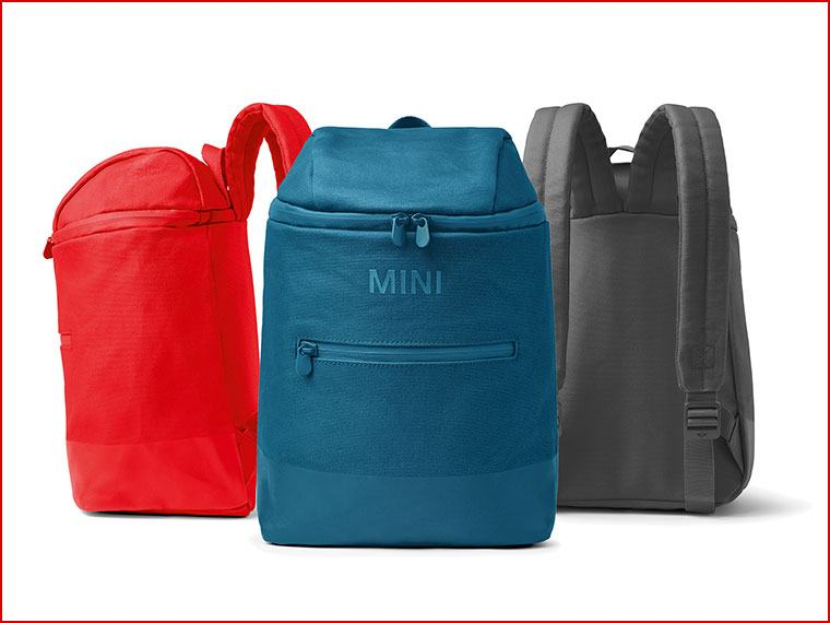 MINI TONAL COLOUR BLOCK BACKPACK