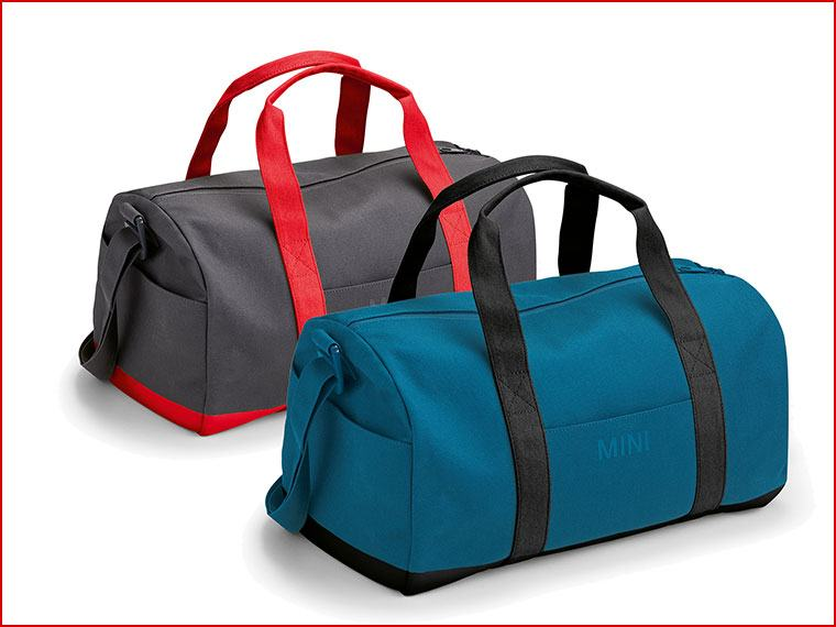 MINI COLOUR BLOCK DUFFLE BAG