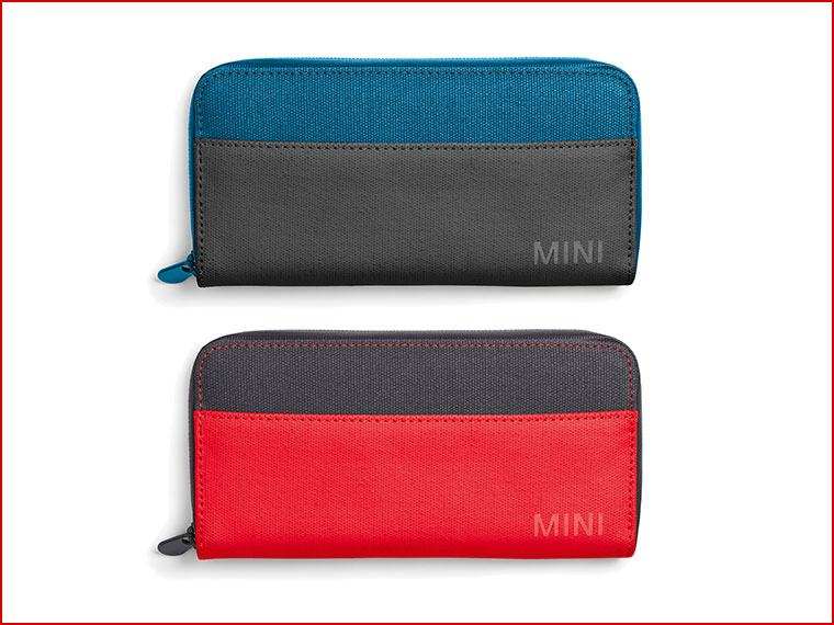 MINI COLOUR BLOCK WALLET