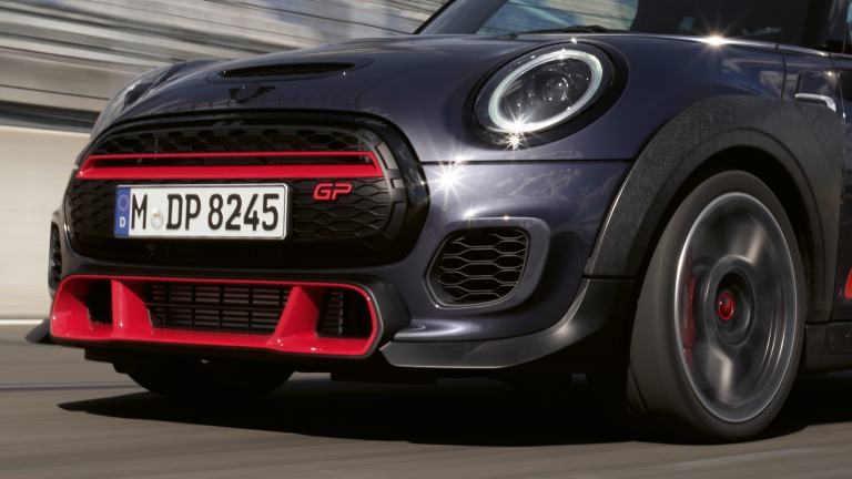 MINI John Cooper Works GP – front view - bumper