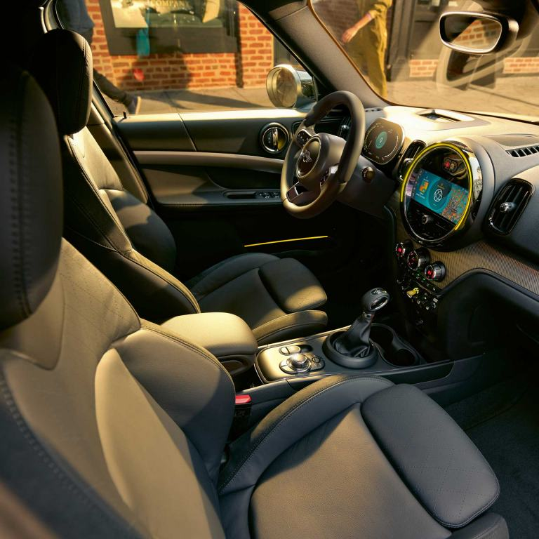 MINI Cooper SE Countryman ALL4  – interior – 360° view